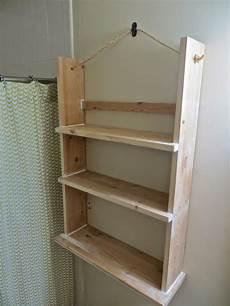 Badezimmer Regal Holz - the project tutorial for a wood bathroom shelf