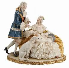 ladario porcellana di capodimonte principe porcellana capodimonte coppia di amanti in tulle
