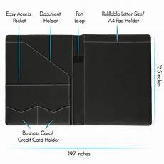 stylio padfolio resume portfolio folder interview legal import it all