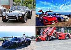 14 Athletes With The Most Amazing Car Collections