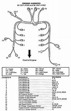 ground wire diagram 1999 mustang running rich but getting lean codes 41 91 mustang forums at stangnet