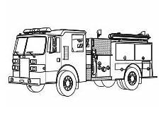 Malvorlagen Feuerwehr Einfach Malvorlage Feuerwehrwagen Kinder Ausmalbilder