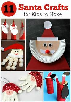 basteln weihnachten kinder 11 santa crafts for to make crafty at home