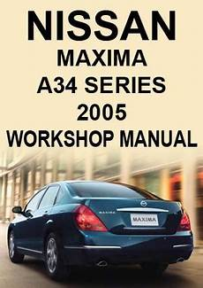 car engine repair manual 2005 nissan maxima on board diagnostic system nissan maxima a34 2005 workshop manual car manuals direct