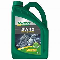 huile moteur feu vert diesel 5w40 5l feu vert