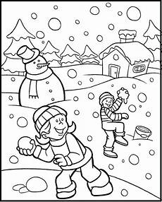 winter coloring pages pdf at getcolorings free