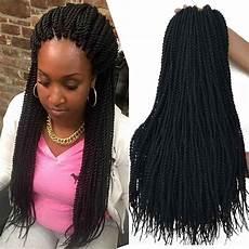 18 Inch 8packs Senegalese Twist Hair Crochet