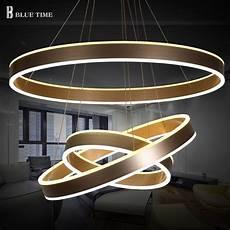 luminaire suspension moderne 40 60 80cm modern led living dining room pendant lights