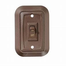 rv designer switch w single brown 3 53 quot x2 39 quot s651 rv plus