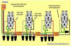 how to wire an outlet in series mycoffeepot org