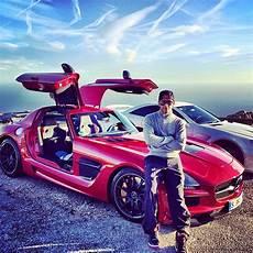 Lewis Hamilton S New Mercedes Sls Black Series