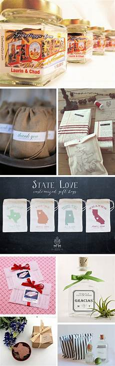 destination wedding favor ideas themed to your location