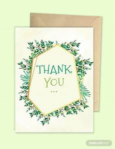 thank you card bautism template word 22 thank you card templates psd vector eps jpg