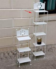 etagere ferro etagere in ferro battuto con fiore altezza 148 cm