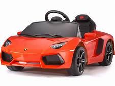 Rastar Lamborghini Aventador LP700 4 6v Orange Battery
