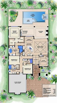 18 adobe house plans with courtyard that will change your