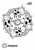 1000  Images About MandalaColoriage On Pinterest