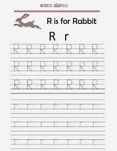 kindergarten worksheets printable tracing worksheet alphabet r r