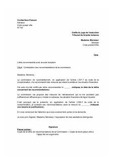 Modele Courrier Greffe Tribunal Modele Courrier Lettre De