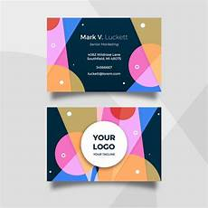 business card template pack abstract template business card pack vector free