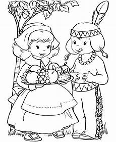 free printable pilgrim coloring pages for best
