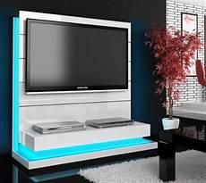 Tv Wand Paneel Element Wei 223 Hochglanz Mit Tv Halterung