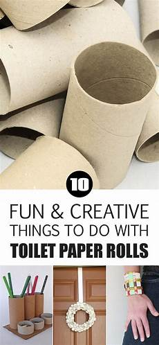 10 fun and creative things to do with toilet paper rolls manualidades flores de papel