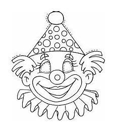 clown amalvorlagen gratis ausmalbilder clown