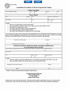 form mv 1sp fillable application to cancel certificate of