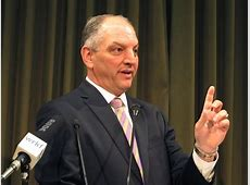 john bel edwards press conference today