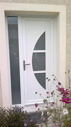 porte d entrée avec tierce porte d entr 233 e pvc blanc demi lune plein cintre