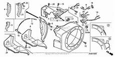 honda engines gx200 hx a engine jpn vin gcae 1900001 parts diagram for fan cover