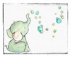 elefant mit luftballon baby elephant with balloon