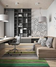 Modern Home Office - 10 ways to add glam to your home modern home