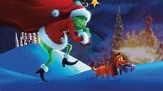 wallpaper the grinch santa claus animation 5k