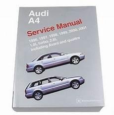 free service manuals online 2001 audi a6 head up display audi a4 avant quattro 1996 2001 1 8l 2 8l service repair manual bentley ebay