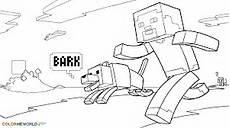 Malvorlagen Lego Minecraft Ausmalbilder Minecraft