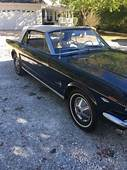 1965 1964 1/2 FORD MUSTANG CONVERTIBLE 260V8 MANUAL TRANS