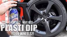 how to plasti dip your wheels rims w black metalizer