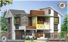 contemporary kerala style house plans house plans kerala style two story 4 bedroom modern home