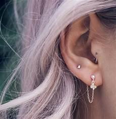 1001 looks et conseils pour le piercing oreille r 233 ussit