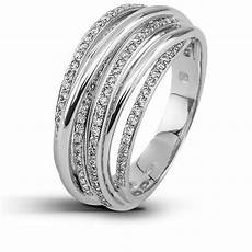 bague or blanc diamant bagues en or blanc femme silver rings