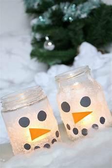 Bastelideen Für Kinder Weihnachten - basteln mit kindern 3 winter diy schneemann ideen