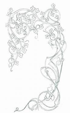 Jugendstil Malvorlagen Blumen Noveau Style Jugendstil Blumen Jugendstil Design