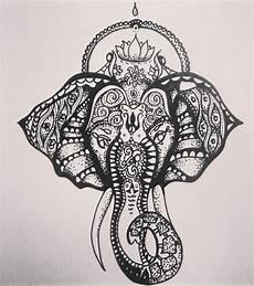 dessin de tatouage photo dessin tatouage 233 l 233 phant inspiration mandala