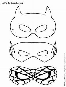 Malvorlagen Superhelden Quest Superhelden Aktivit 228 Ten Kostenlose Superhelden Masken Zum