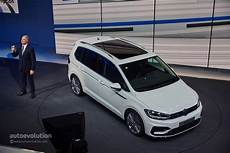 Touran Facelift 2018 - 2016 volkswagen touran r line package launched in germany