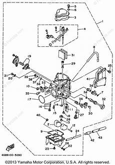 1996 yamaha kodiak carburetor diagram wiring schematic yamaha atv 1996 oem parts diagram for carburetor partzilla