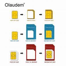 Sim Adaptateurs Pour Cartes 4 Dans 1 Nano Micro Standard