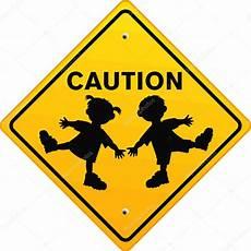 caution children stock vector 169 scusi0 9 2571792